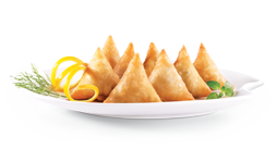 Signature Samosas and Spring Roll