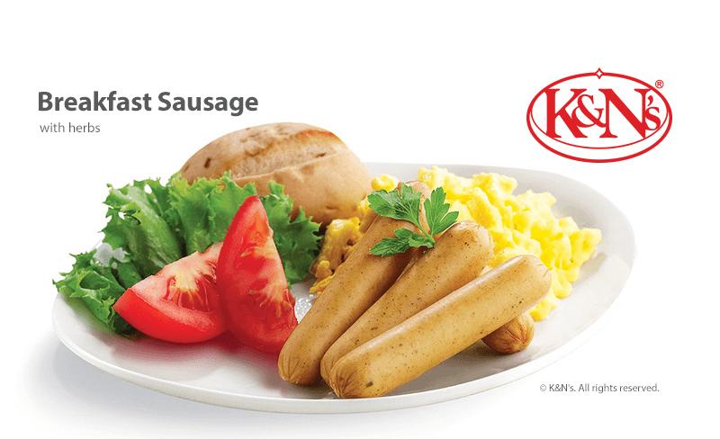 K&N's Breakfast Sausage - with herbs