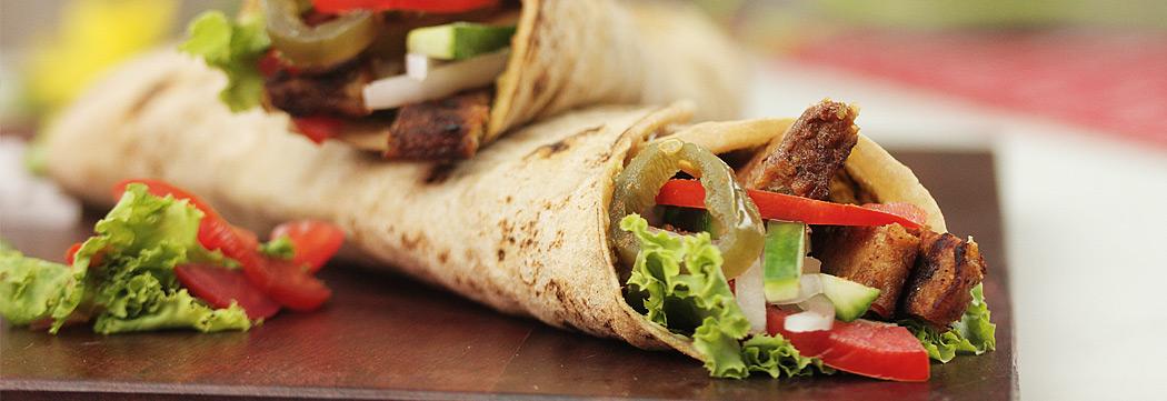 Chapli Kabab Roll
