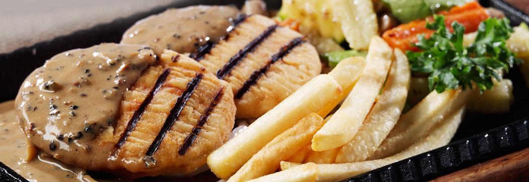 Chicken Pepper Steak