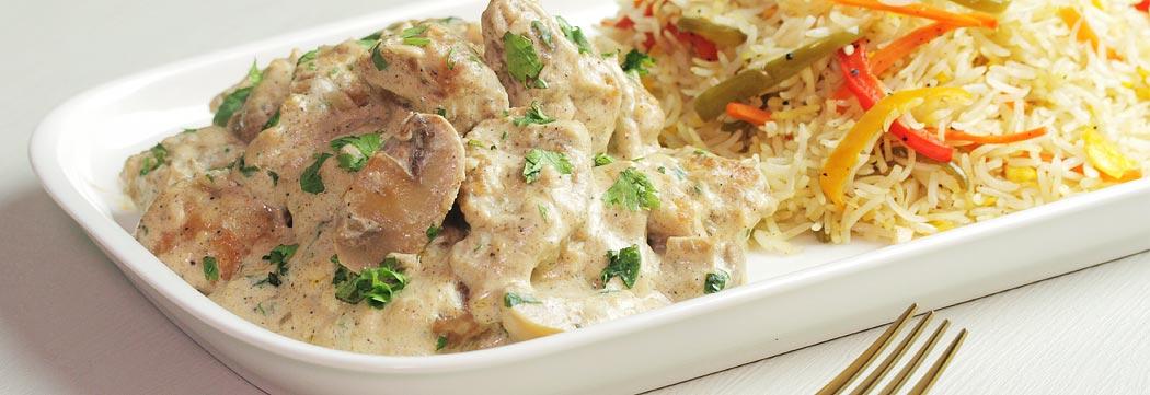 Creamy Chicken Mushroom Sauce
