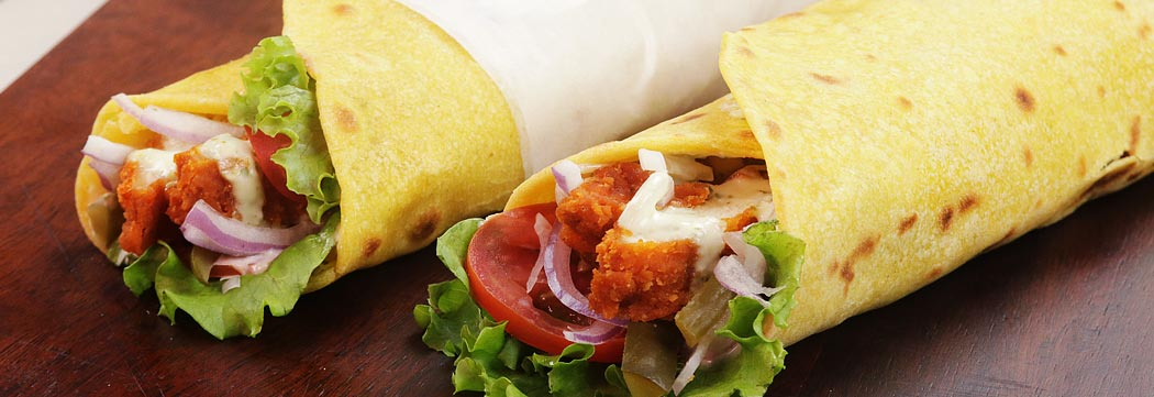 Crispy Tortilla Wraps