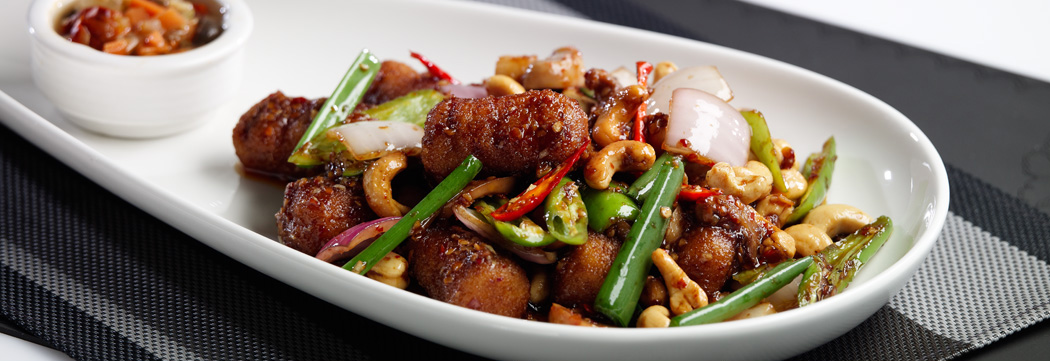 Croquettes with Cashew Nuts