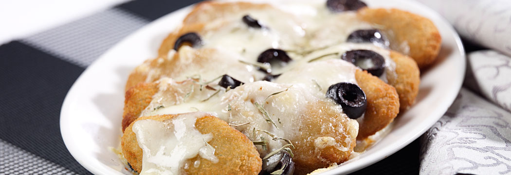 Haray Bharay Nuggets with Cheese and Olives