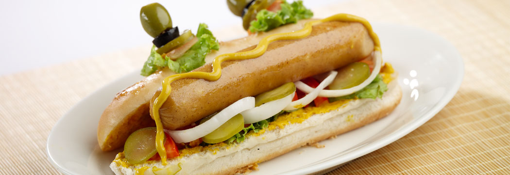Jumbo Frank Spicy Hot Dog