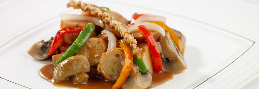 Jumbo Frank with Oyster Sauce
