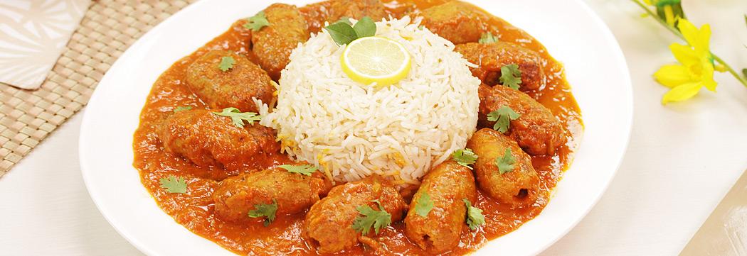 Kafta Kabab Coconut Curry