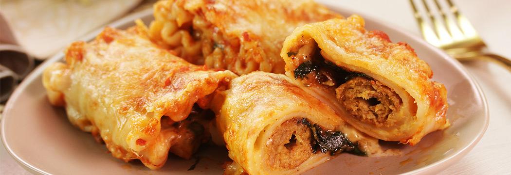 Lasagna Kabab Roll