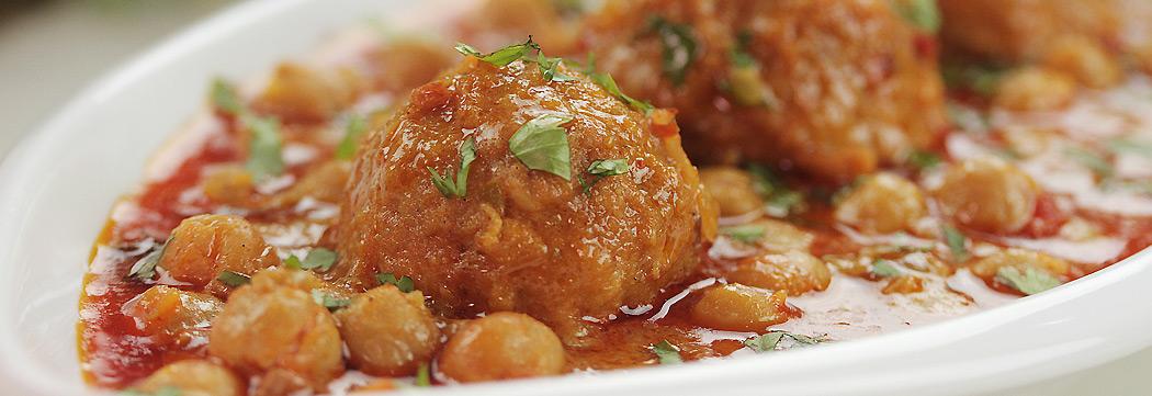 Kofta Chickpeas Curry