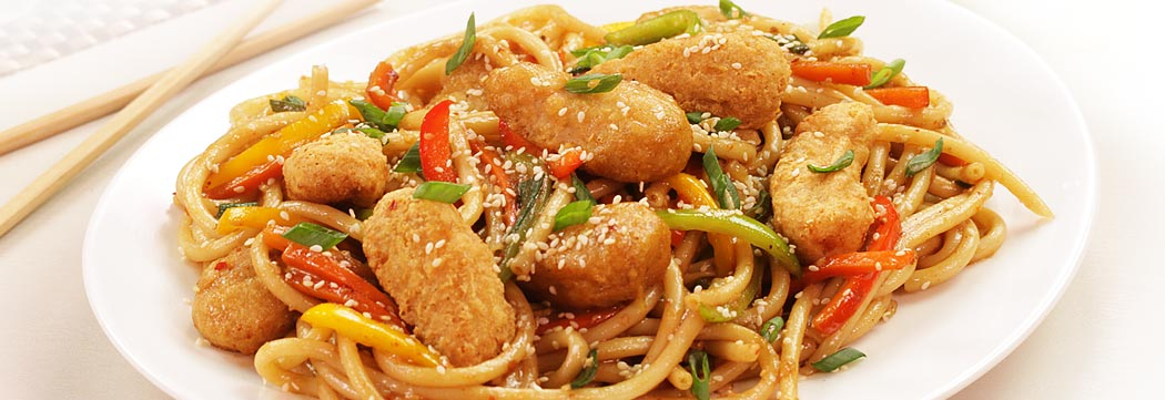 Mongolian Chicken Noodles
