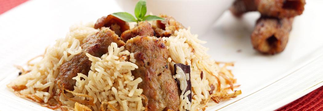 Persian Kabab Rice