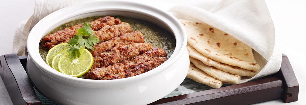 Seekh Kabab Creamy Mustard