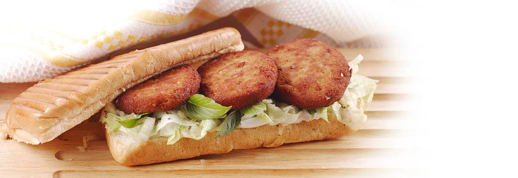 Shami Kabab Cheese Panini