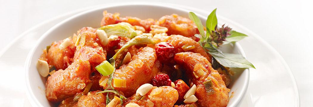 Spicy Peanut Tempura