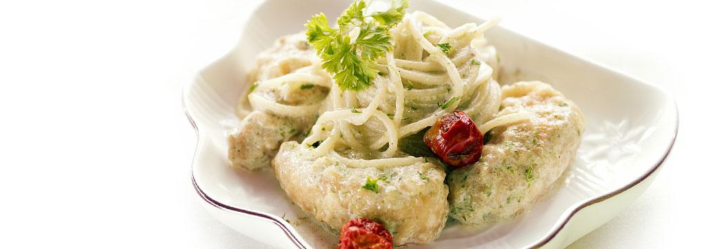 Tempura Green Spaghetti