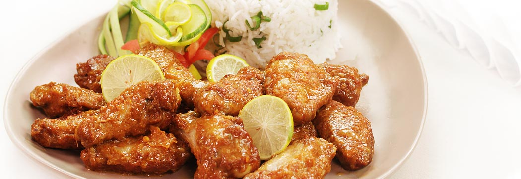 Wings with Lemon Sauce